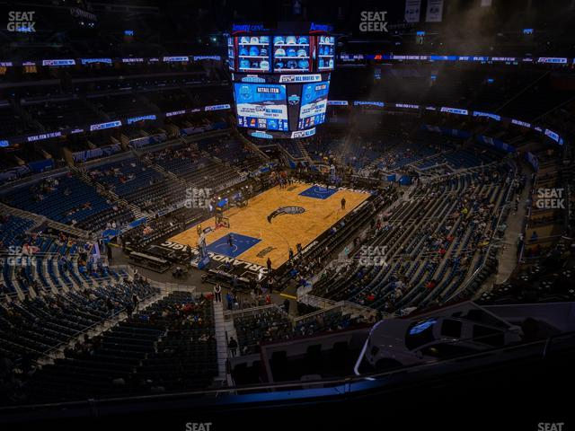 Amway Center Section 230 view