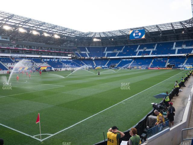 Red Bull Arena Section 131 view