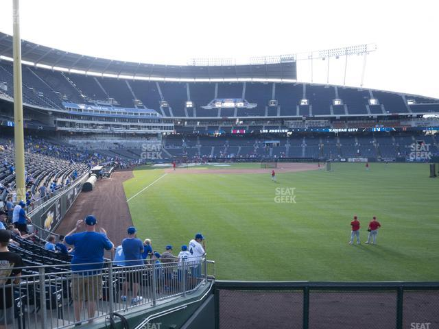 Kauffman Stadium Section 150 view
