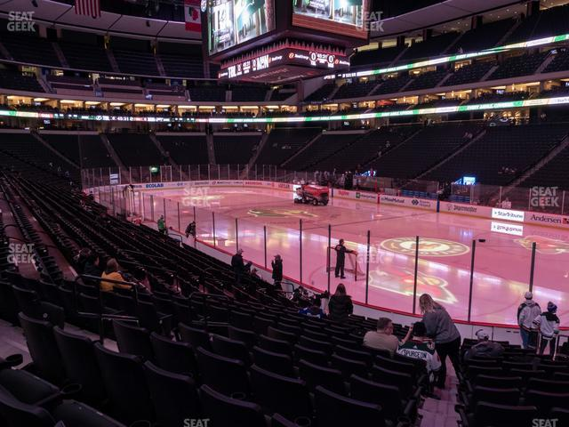 Xcel Energy Center Section 126 view