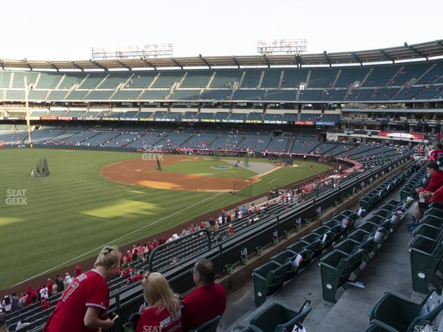 Angel Stadium of Anaheim Section 307 view