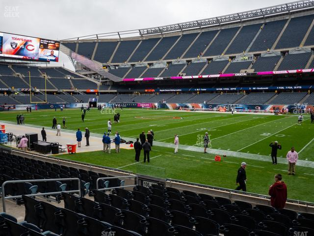 Soldier Field Section 105 view