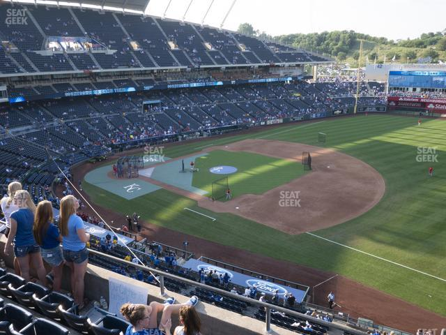 Kauffman Stadium Section 433 view