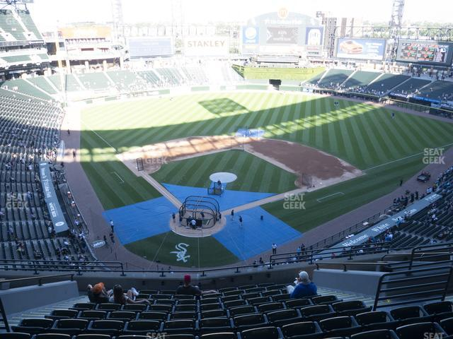 Guaranteed Rate Field Section 530 view