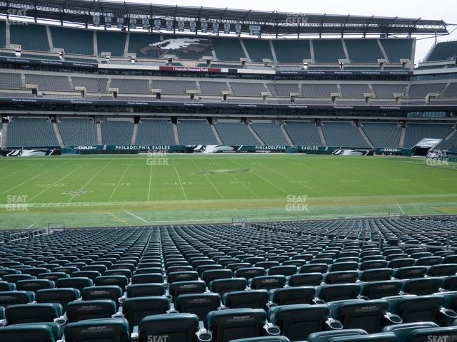 Lincoln Financial Field Section 138 view