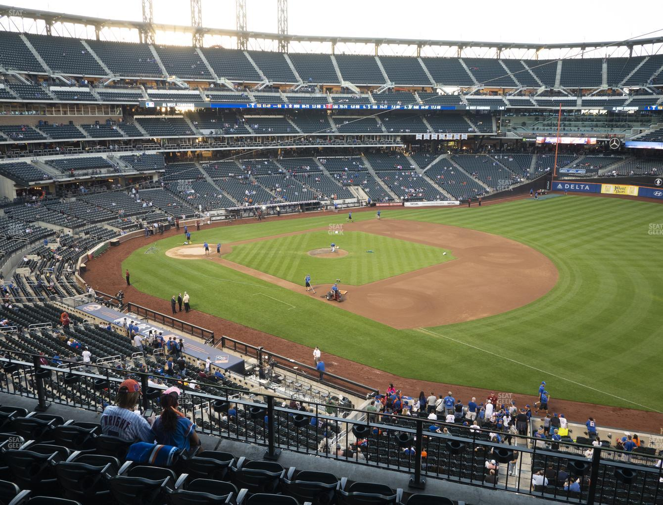 New York Mets at Citi Field Section 308 View