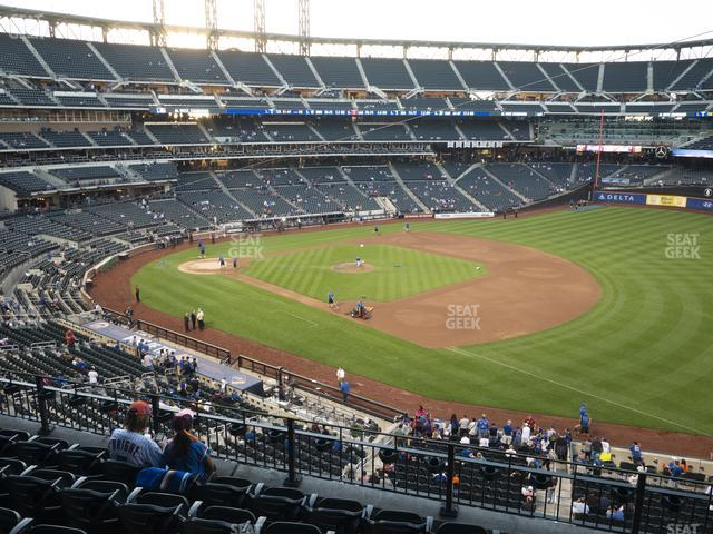 Citi Field Section 308 view