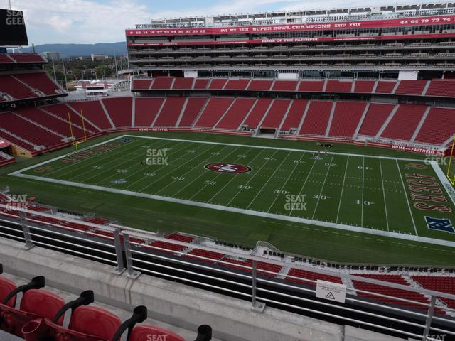 Levi's Stadium Section 312 view