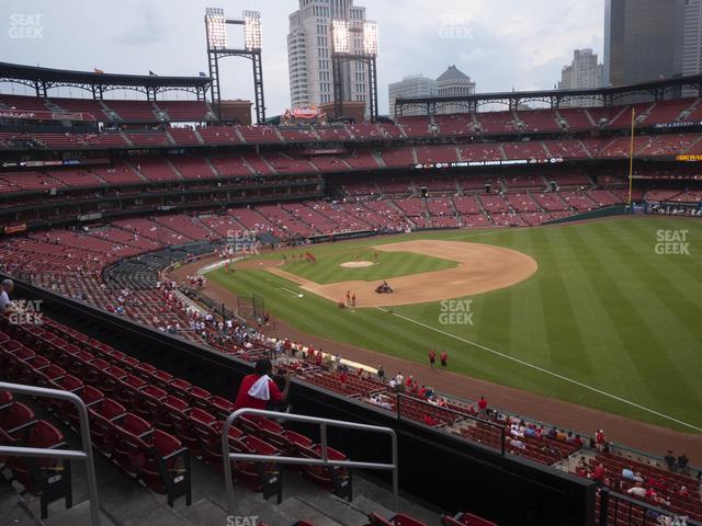 Busch Stadium Right Field Loge 234 view
