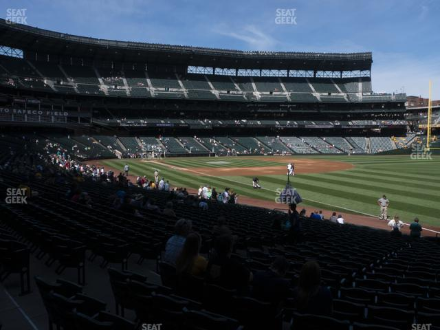 T-Mobile Park Section 114 view