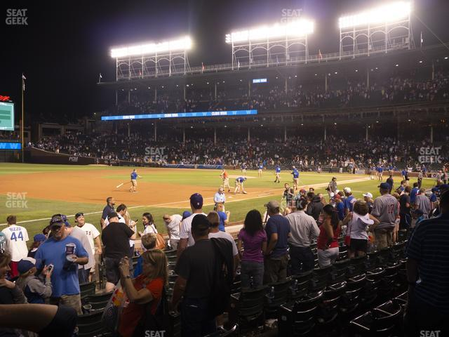 Wrigley Field Club Box Infield 8 view