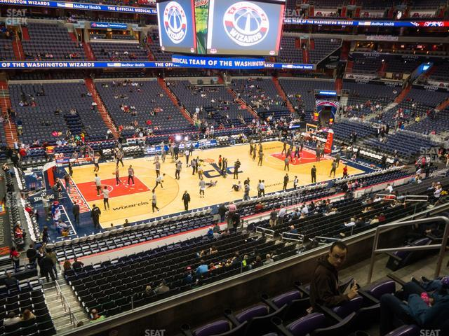 Capital One Arena Section 213 view