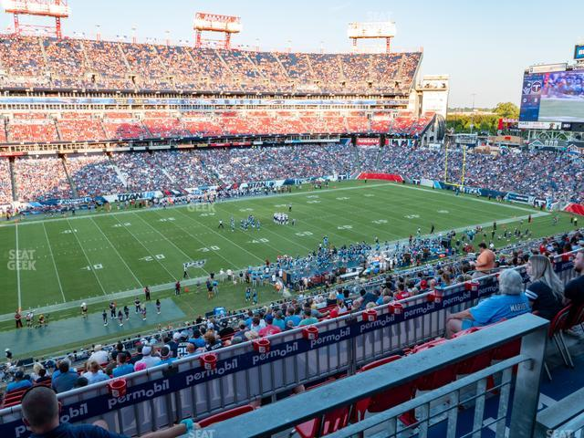 Nissan Stadium Section 239 view