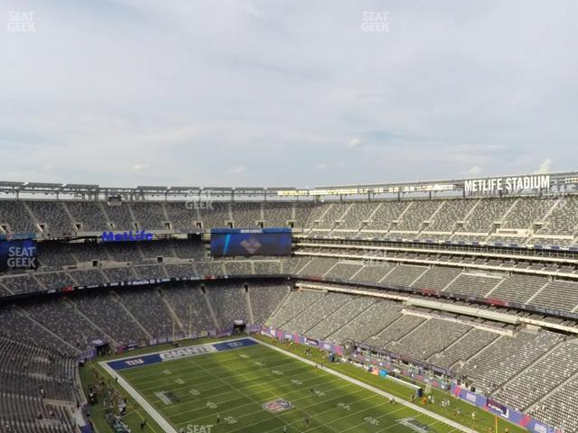 MetLife Stadium Section 331 view
