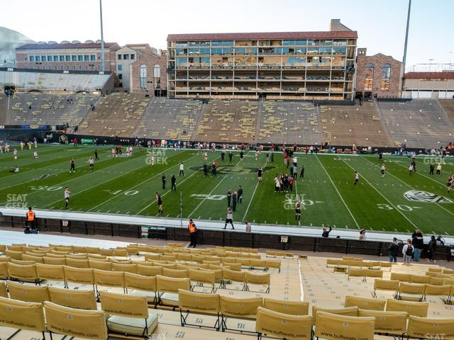Folsom Field Section 118 view