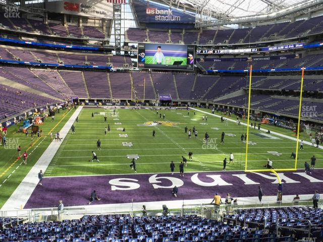 U.S. Bank Stadium Section 143 view