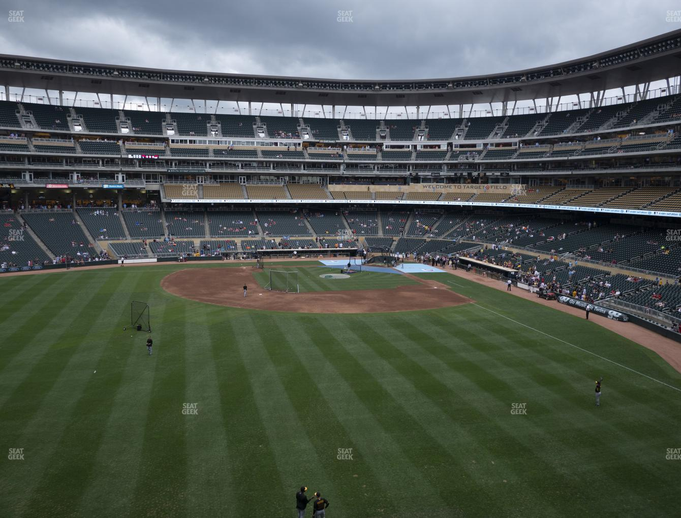 Minnesota Twins at Target Field Section 231 View