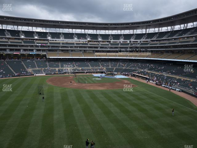 Target Field Section 231 view