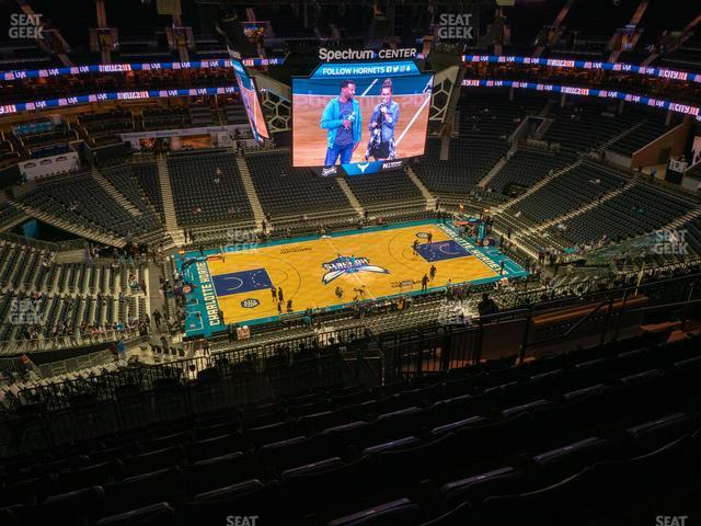 Spectrum Center Section 210 view