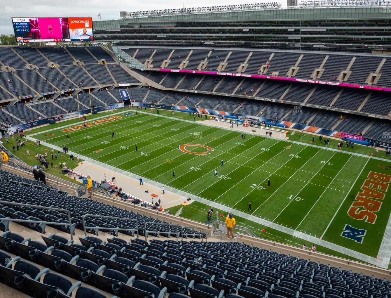 Chicago Bears at Soldier Field Section 432 View