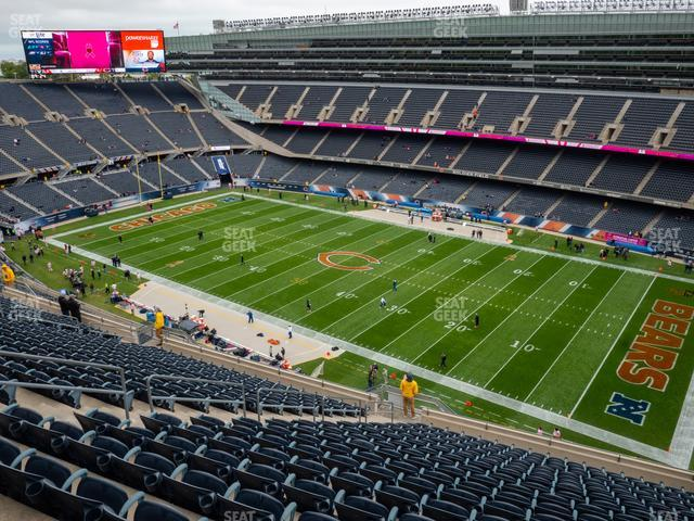 Soldier Field Section 432 view