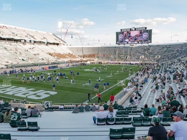 Spartan Stadium Section 29 view