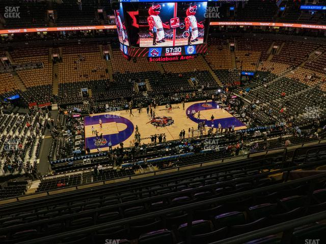 Scotiabank Arena Section 322 view