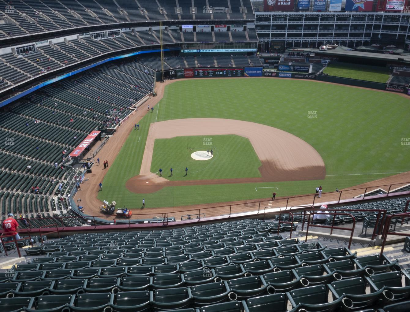 International Champions Cup at Globe Life Park Section 331 View