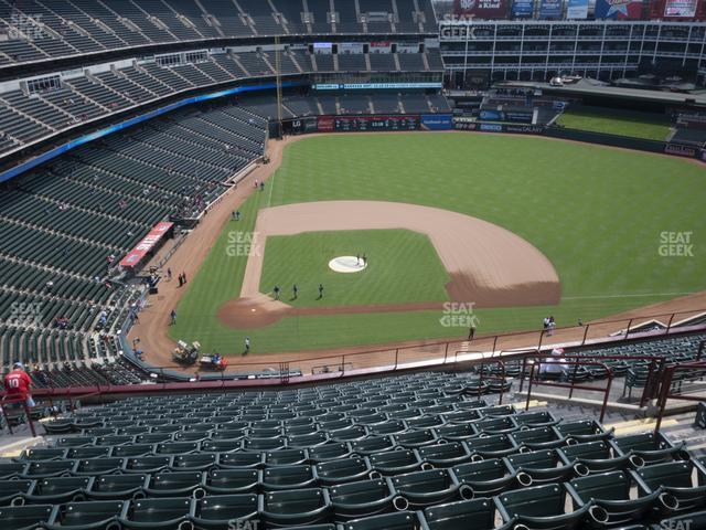 Globe Life Park Section 331 view