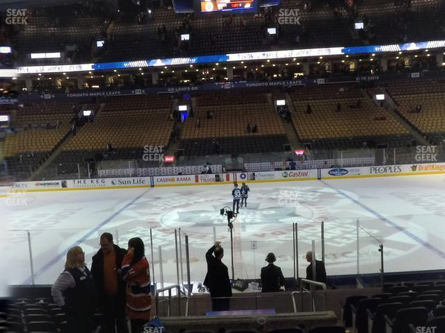 Scotiabank Arena Section 108 view