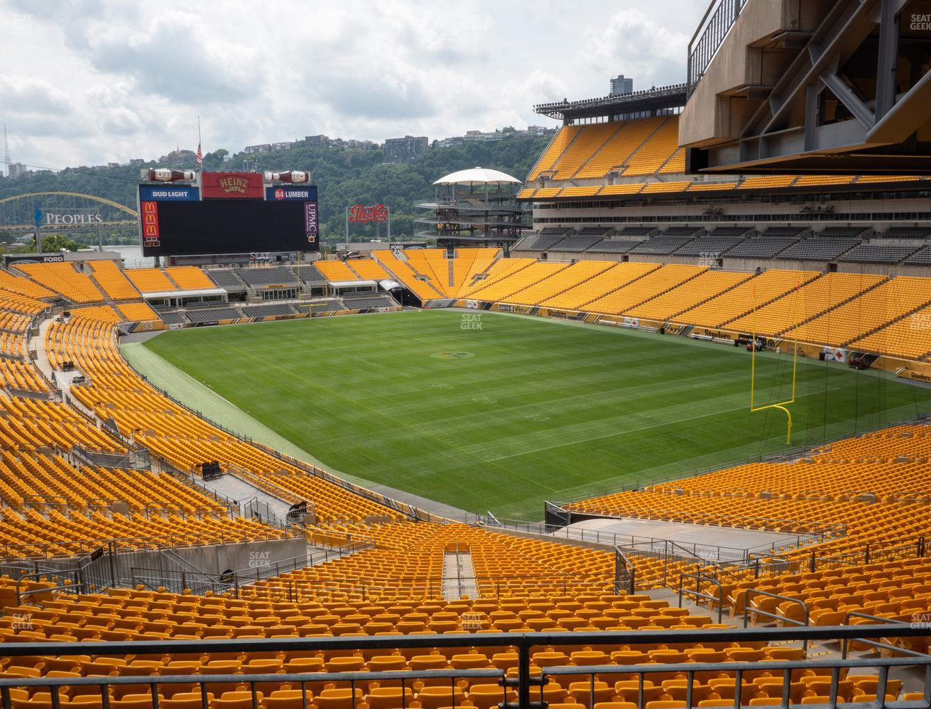Pittsburgh Steelers at Heinz Field North Club 003 View