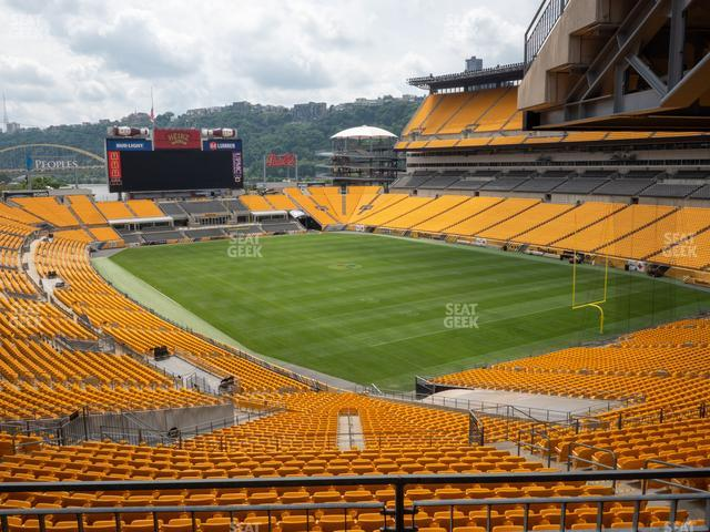 Heinz Field North Club 003 view