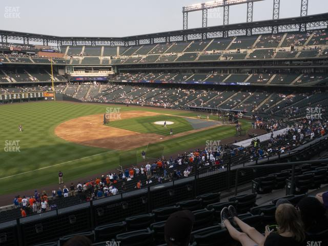 Coors Field Section 244 view