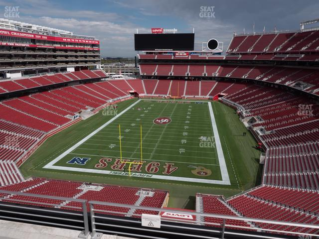 Levi's Stadium Section 325 view