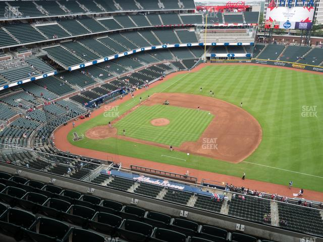 SunTrust Park Section 417 view