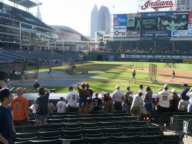Progressive Field Section 146 view