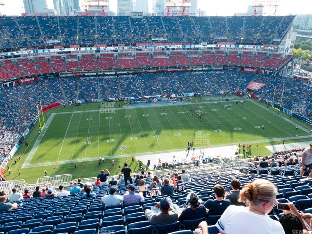 Nissan Stadium Section 314 view