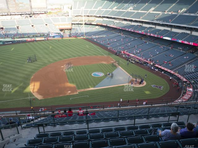 Angel Stadium of Anaheim Section 513 view