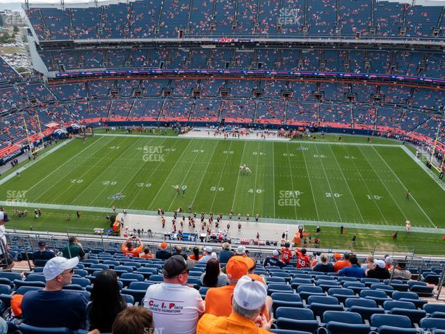 Empower Field at Mile High Section 533 view