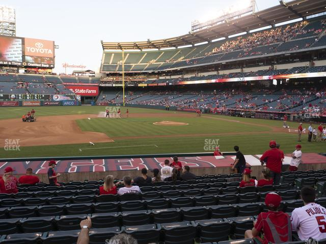 Angel Stadium of Anaheim Section 111 view