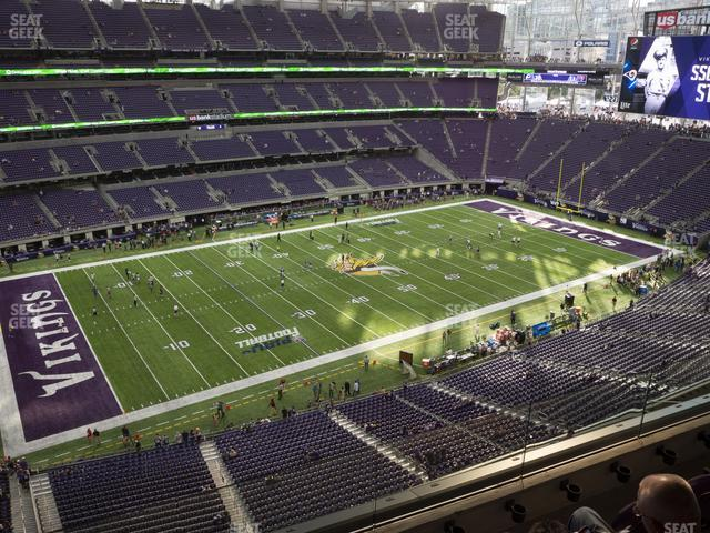 U.S. Bank Stadium Section 316 view