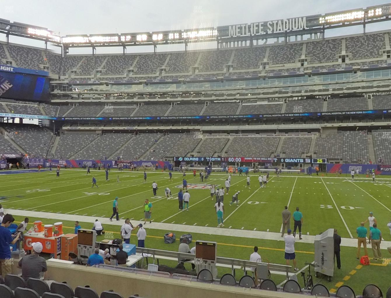 53a8dd67a59 View seating charts. New York Jets at MetLife Stadium Section 137 View ...