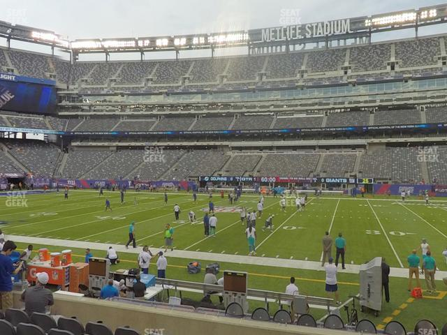 MetLife Stadium Section 137 view