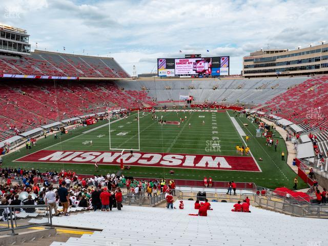 Camp Randall Stadium Section Y 3 view