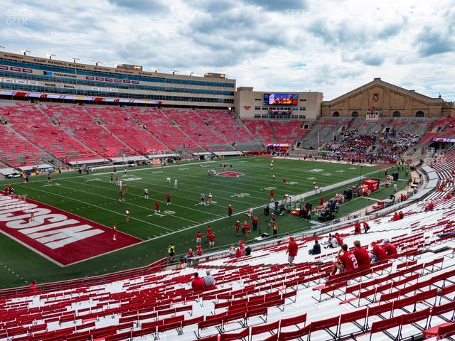 Camp Randall Stadium Section I view