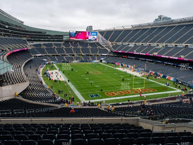 Soldier Field Section 355 view