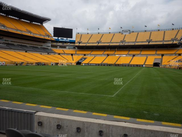 Heinz Field Section FC 5 view