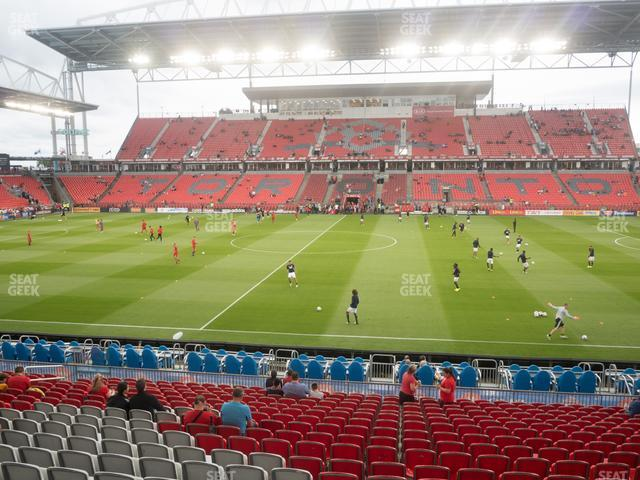 BMO Field Section 107 view