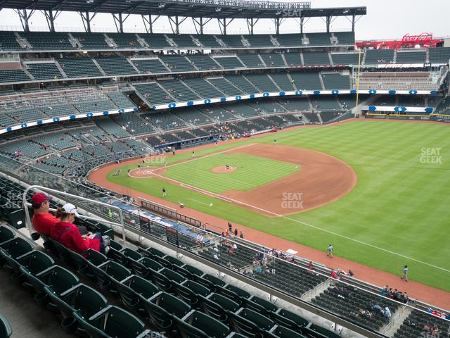 SunTrust Park Section 315 view