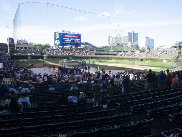 Wrigley Field Section 120 view
